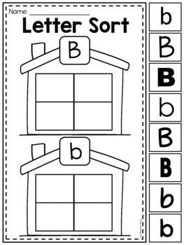 MEGA Alphabet Worksheet Pack - Pre-K Kindergarten