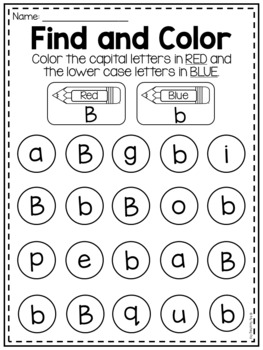 MEGA Alphabet Worksheet Pack - Pre-K Kindergarten