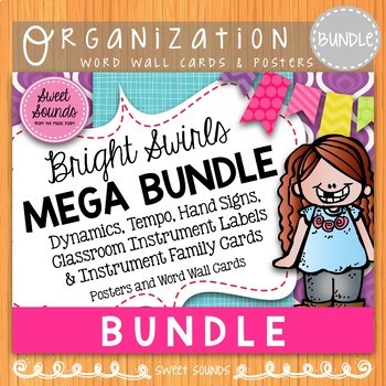 Mega BUNDLE {Dynamics, Tempo, Hand Signs & Instrument Family}