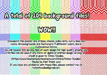 Mega Background Bundle - Color Coordinated