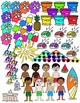 Mega Beach Fun Clipart Set