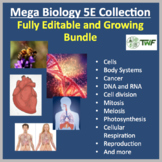 Mega Biology 5E Lesson Collection – Fully Editable and Growing Bundle