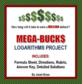 Logarithms Project:  Mega-Bucks, Comparing Interest Rates