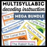 Mega Bundle-Advanced Multisyllabic Decoding Strategies