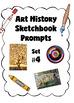 Mega Bundle:  Art History Sketchbook Prompts-  84 Cards