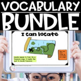 Vocabulary Bundle for Kindergarten, First Grade and Second Grade