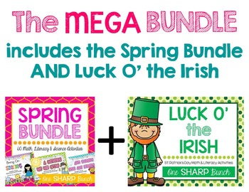 Mega Bundle {Math, Literacy, Science, Social Studies & MORE}