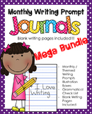 Mega Bundle NO PREP Journal Prompts - ALL YEAR