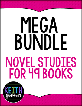 Mega Bundle Novel Studies
