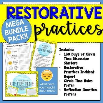 Mega Bundle Pack: Restorative Practices Resources