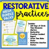 Mega Bundle Pack Upper Grades: Restorative Practices Resources