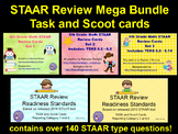 Mega Bundle - 6th Grade Math STAAR Review Task/Scoot Cards