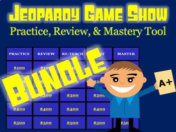 Mega Jeopardy Bundle: Science Units