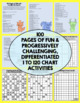 Mega Bundle of 100 (!) pages of differentiated 120 Charts
