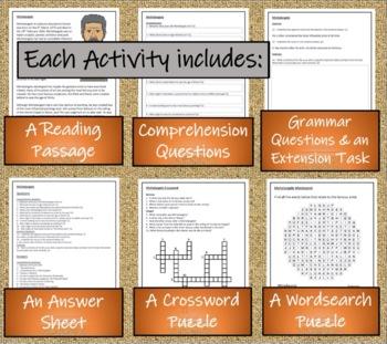 Mega Bundle of 30 Informational Text Activities