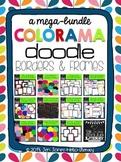 Mega Bundle of Colorama Doodle Borders & Frames: For Perso