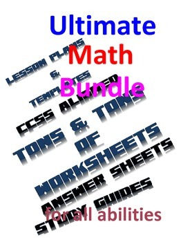 Mega Bundle of Math Goodies