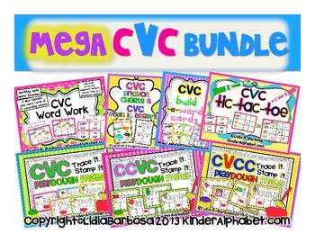 Mega CVC Bundle plus CVCC and CCVC Packs