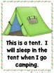 Mega Camping Books Bundle (Emergent Readers and Teacher Lap Book)