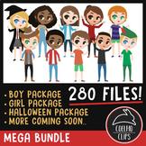 Mega Character Bundle [Coelho Clips Digital Clipart]