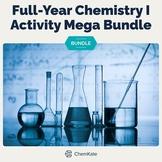 Chemistry I Mega Bundle - Print & Digital Mix   Digital Resources