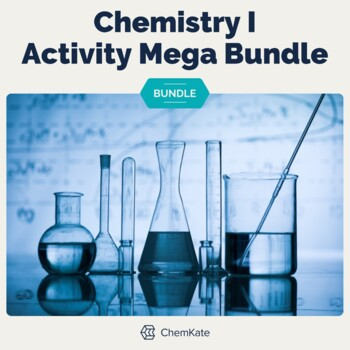 Chemistry I Activity Mega Bundle - Print and Digital Mix | Digital Resources