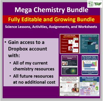 Mega Chemistry Collection - Fully editable and growing che