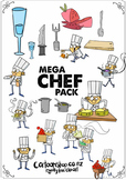 Mega Clip Art Chef Pack [38 items - Cartoon Shop]
