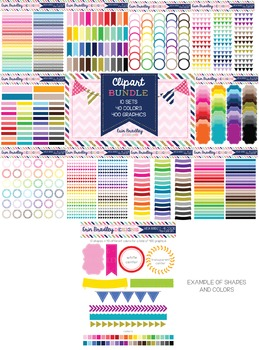 Mega Clipart Bundle 2 - New Sellers Graphics Package