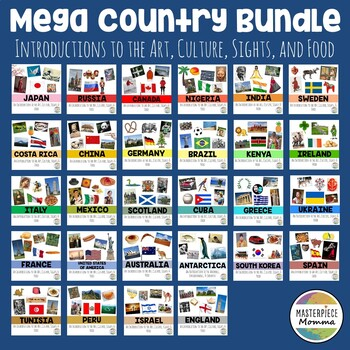 Mega Country Bundle: Introductions to the Art, Culture, Sights, and Food