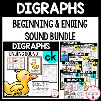 Mega Digraph Bundle {/ck/, /ch/, /ph/, /sh/, /th/, /wh/ resources & printables}
