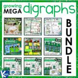 Mega Digraphs Activities and Worksheets Bundle