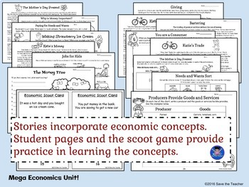 Economics: Goods, Services, Producers, Consumers, Resources and more!
