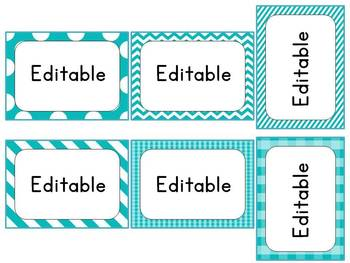 Mega Editable Labels
