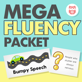 Mega Fluency Packet for Speech Therapy