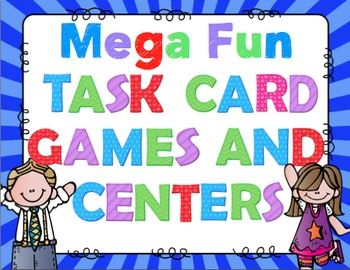 Mega Fun Task Card Games and Centers