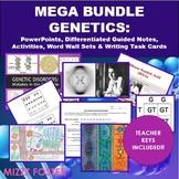 Mega Genetics / DNA / Chromosomes Bundle: PowerPoints, Notes and Activities