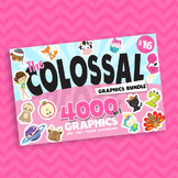Colossal Clipart collection 4000 in 1 graphics, images, clip art