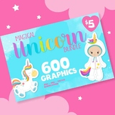 Mega Giant Unicorn collection 600 graphics