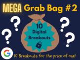 Mega Grab Bag #2: 10 Digital Breakouts (End of the Year Activities, Summer)