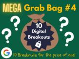 Mega Grab Bag #4: 10 Digital Breakouts (End of the Year Activities, Summer)