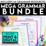 Mega Grammar Bundle for Secondary ELA (distance learning)