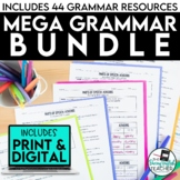 Mega Grammar Bundle for Secondary ELA (distance learning)