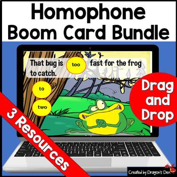 Mega Homophone Bundle Boom Cards
