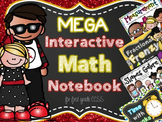 Mega Interactive Math Notebook for First Grade CCSS