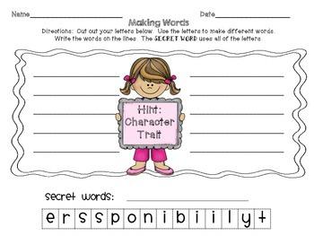Mega Making Words Packet