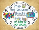 Mega Map Skills and Geography Bundle