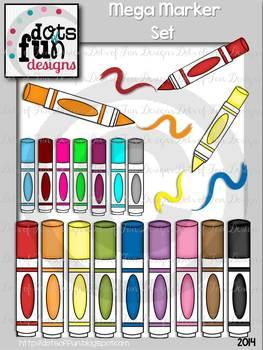 Mega Marker Set ~Dots of Fun Designs~
