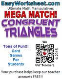 Mega Match - Congruent Triangles