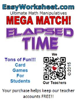 Mega Match - Elapsed Time